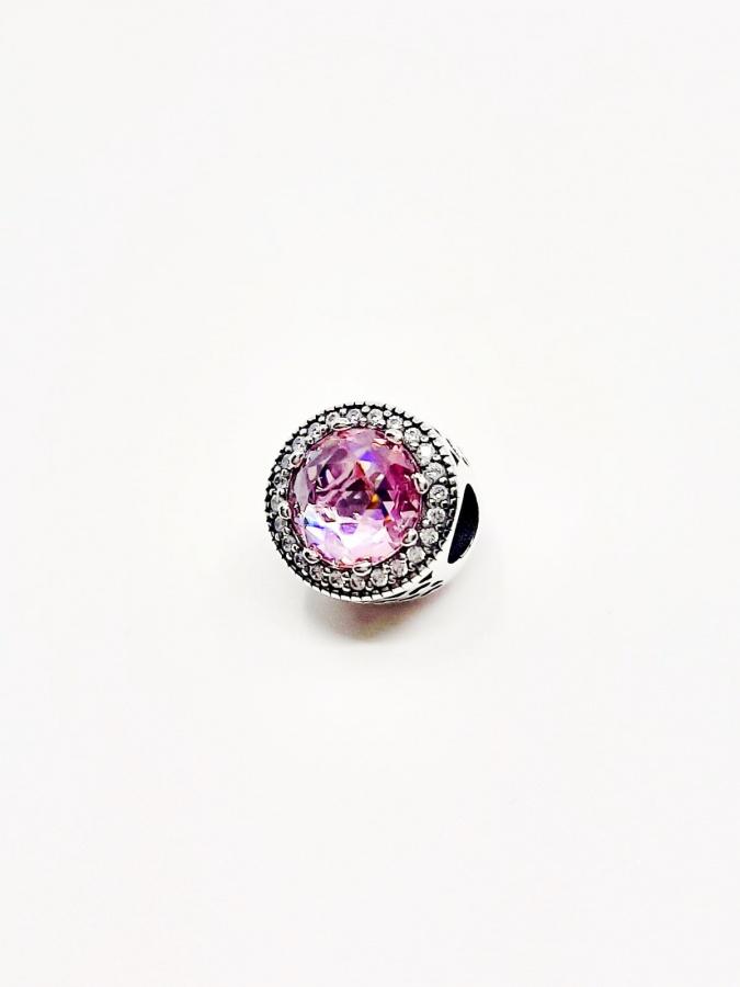 Beads do bransoletki różowy